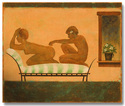 THE FRENCH SETTEE, 2014 - 40X48 in.