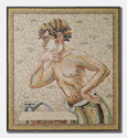 MORNING SHAVE, 2006 - mosaic - 42x38 in.